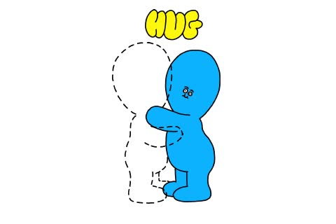 Watch and share Awkward Hug GIFs on Gfycat