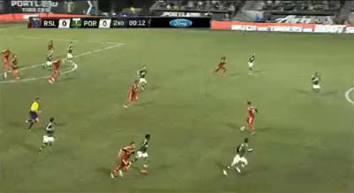 Watch and share Javier Morales Through Ball GIFs by matdoyle76 on Gfycat