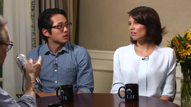 Watch this larry king GIF on Gfycat. Discover more larry king, lauren cohan, steven yeun, walking dead GIFs on Gfycat