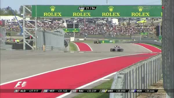 Watch and share 2014, Alonso Versus Button On Lap 22. (reddit) GIFs by cubejam on Gfycat