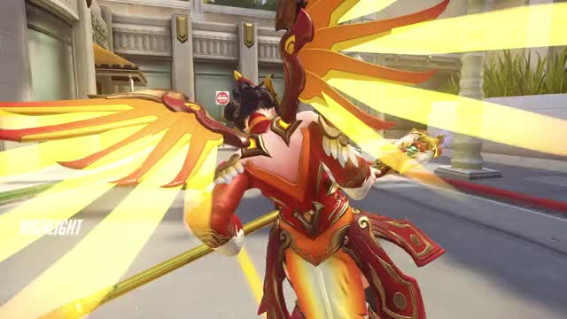 Watch and share Highlight GIFs and Overwatch GIFs by buttercup on Gfycat