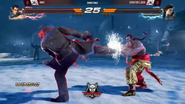 Knee (Feng) vs. JDCR (Drag)