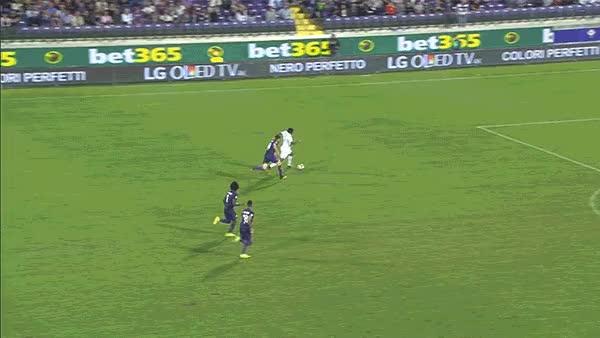 Watch and share Luiz Adriano Fiorentina Milan GIFs on Gfycat