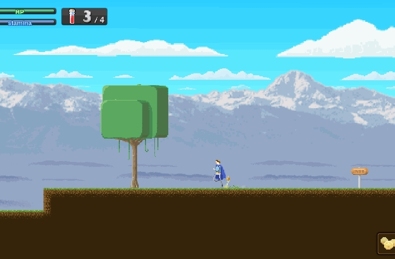 gamedevscreens, testing a new WIP parallax background in Cape Bleue GIFs