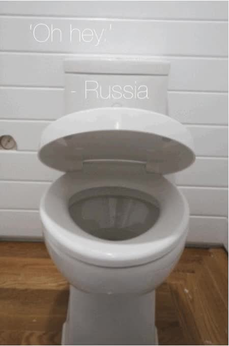Watch and share Russia Bathroom Surveillance animated stickers on Gfycat