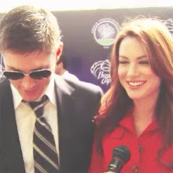 Watch and share Jensen X Danneel GIFs and Danneel Harris GIFs on Gfycat
