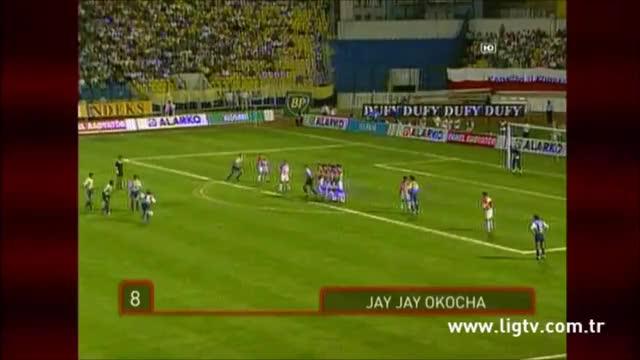 Watch and share OKOCHA - Fenerbahce Free Kick, C.1997 GIFs on Gfycat