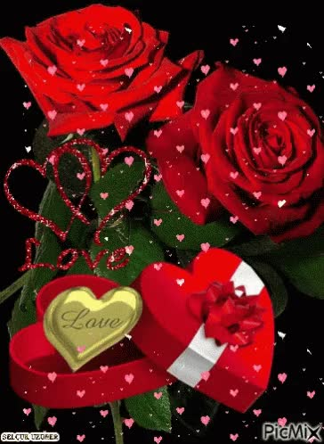 Watch and share Roses Gift GIFs on Gfycat