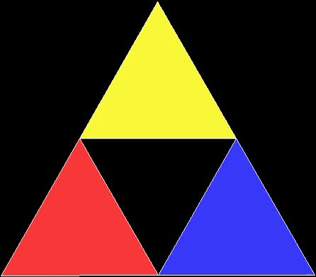 Watch and share Rep Tile Triangle Creating Sierpinski Carpet GIFs on Gfycat