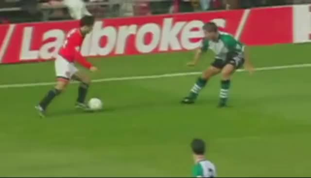 Watch and share Ryan Giggs GIFs and Mna Utd GIFs on Gfycat