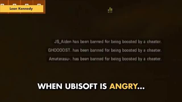 Ubisoft angry
