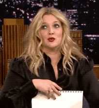 awkward, drew barrymore, my bad, oops, the tonight show, uh oh, whoops, yikes, Drew Barrymore Oops GIFs