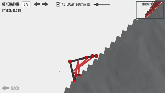 Watch Evolution - design a creature and watch it evolve using a genetic algorithm. (reddit) GIF on Gfycat. Discover more related GIFs on Gfycat
