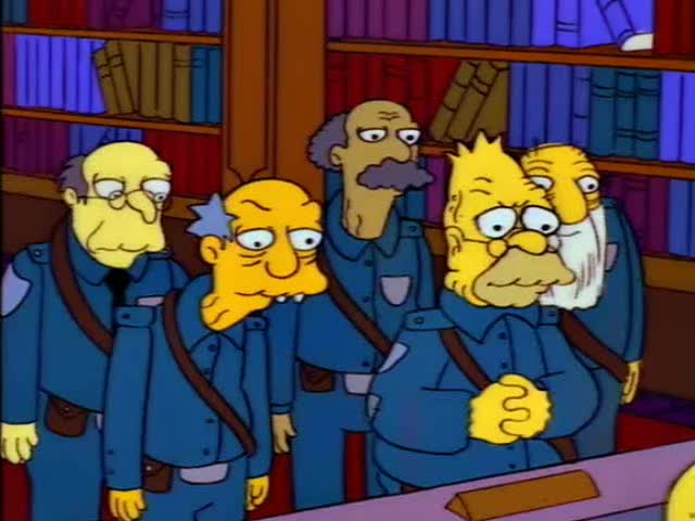Abe Simpson - Union Buster