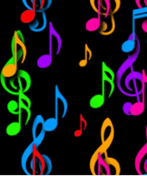Watch and share Music Notes Up Blck Gif GIFs on Gfycat