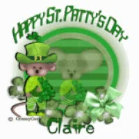 Watch and share Claire Happy St Patty's Day GIFs on Gfycat