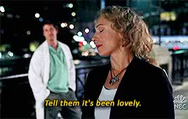 Watch and share Elizabeth Corday GIFs and Alex Kingston GIFs on Gfycat