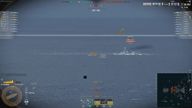 Watch and share World Of Warships GIFs and Destroyed GIFs by oreo7105324 on Gfycat