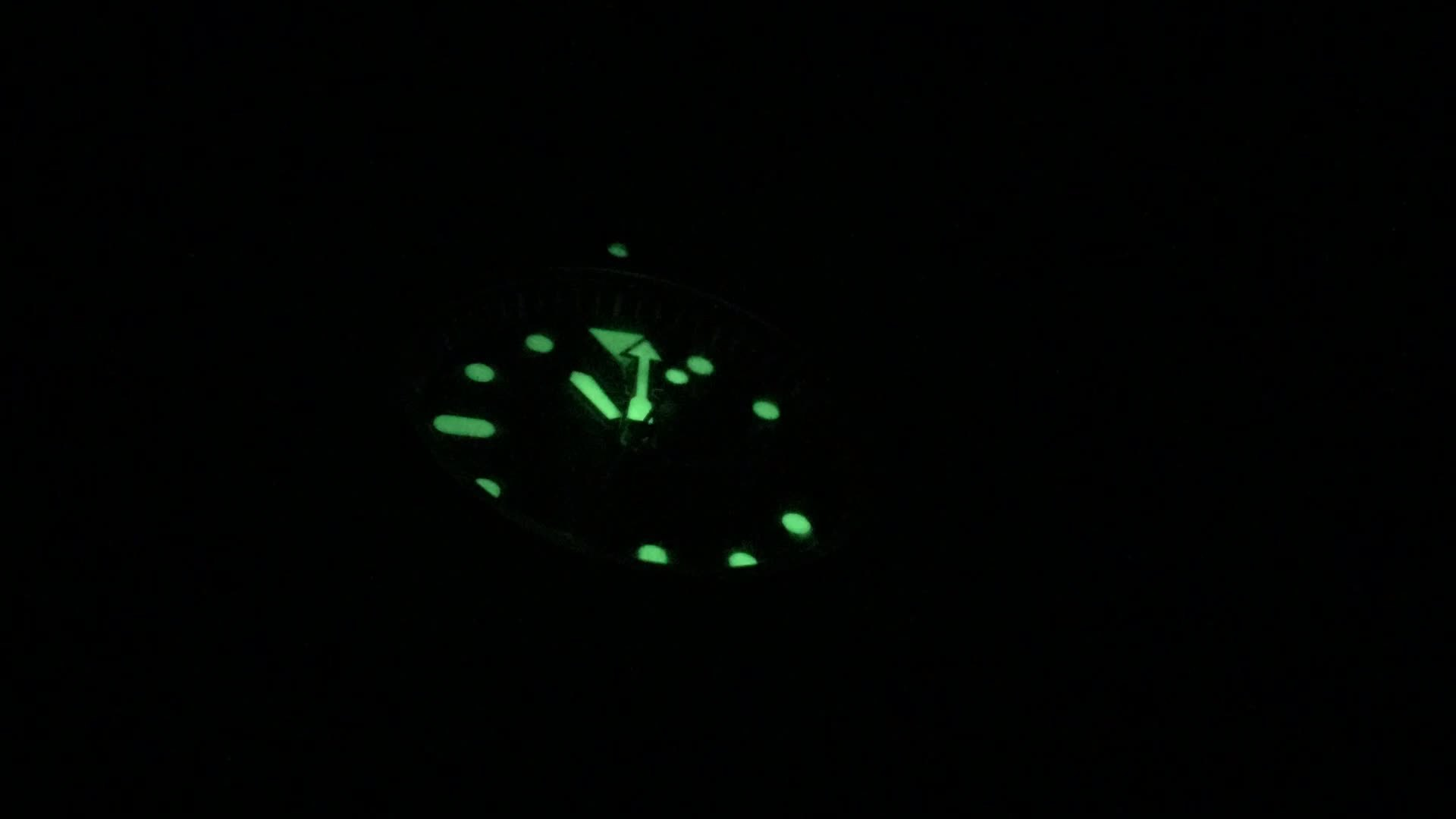 watches, SKX009 Lume Timelapse GIFs