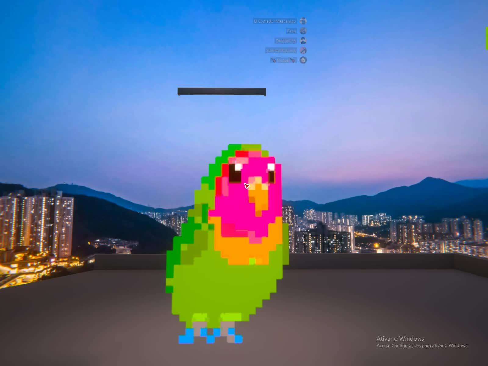 dancando, papagaio, vrchat, Papagaio dançando vr chat GIFs