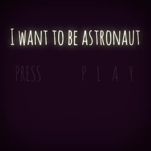 Watch and share I Want To Be Astronaut GIFs by csfeno@gmail.com on Gfycat