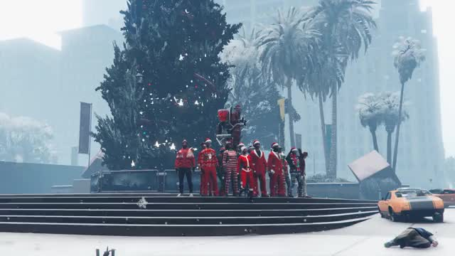 Watch and share Santa Jetpack GIFs on Gfycat