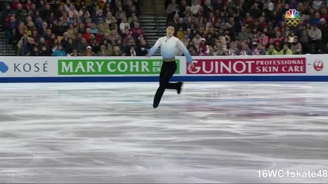 Watch this ice skate GIF by Irina Niculiu (@irinan) on Gfycat. Discover more 1skate48, 2016 world figure skating championships, 2016 worlds, figure skating, ice skate, ice skating, nbc, nbcsn, short program, sp, yuzuru hanyu, yuzuru hanyu sp, 羽生結弦 GIFs on Gfycat
