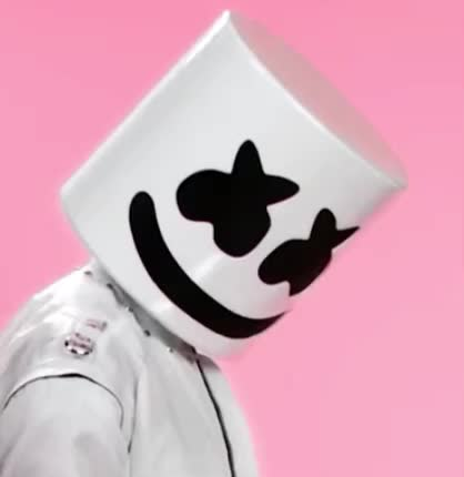 alternate, bastille, bye, cu, farewell, flirt, ft, goodbye, gracias, happier, kiss, kisses, later, marshmello, pink, see, thank, thanks, you, Marshmello ft. Bastille - Happier (Alternate Music Video) GIFs