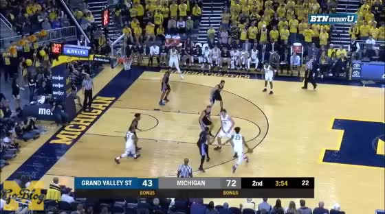 Watch and share Grand Valley State GIFs and Post Offense GIFs by MGoBlog on Gfycat