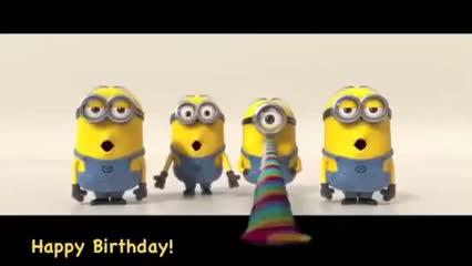 bday, birthday, happy birthday, Minions Happy Birthday GIFs