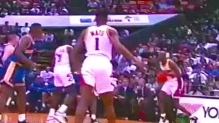 Watch and share Stacey Augmon, Atlanta Hawks GIFs by Off-Hand on Gfycat