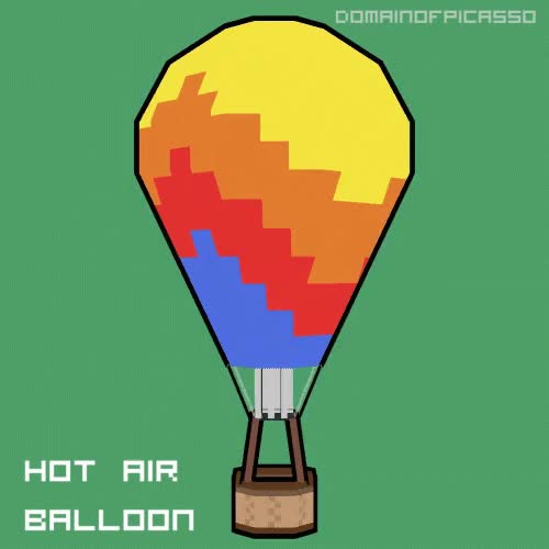 Watch and share Hot Air Balloon GIFs by domainofpicasso on Gfycat