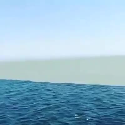 Watch Glacial River Meets Ocean GIF on Gfycat. Discover more nature, ocean, science, water, wow GIFs on Gfycat