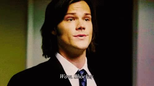 Watch Shocker GIF on Gfycat. Discover more jared padalecki GIFs on Gfycat