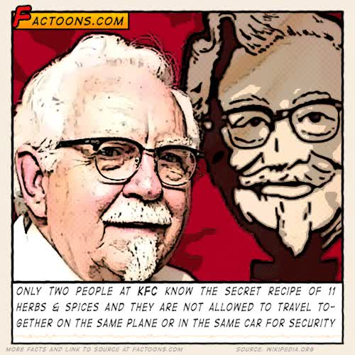 Watch #KFC #Secrets GIF on Gfycat. Discover more chicken, facts, kfc, secret, world GIFs on Gfycat