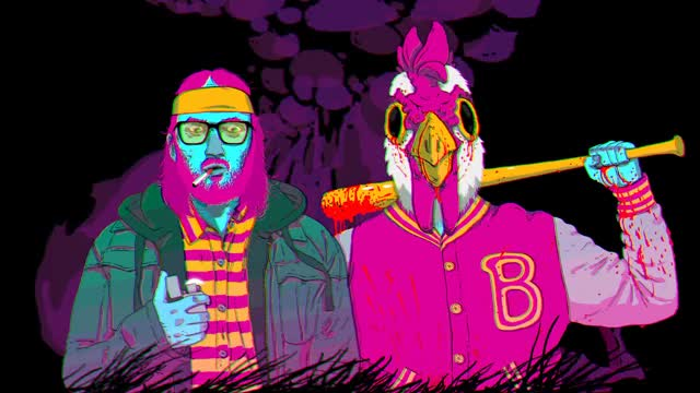 Watch and share Hotline Miami Wallpaper GIFs on Gfycat