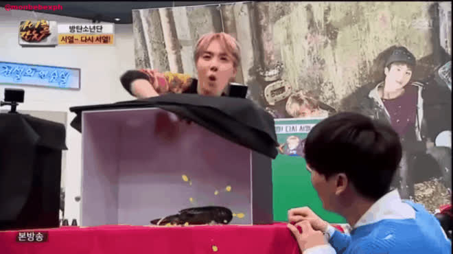 Chiếc hộp bí mật thử thách trí tưởng tượng khiến sao Hàn khóc ròng vì sợ hãi