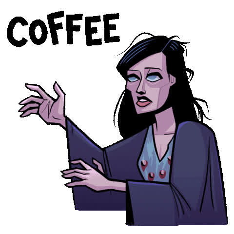 coffee, dark horse, dark horse comics, david harbour, hellboy, hellboy 2019, hellboy movie, milla jovovich, morning, superhero, superheroes, Hellboy Coffee GIFs