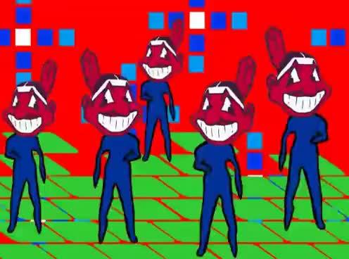 Watch and share Chief Wahoo Bobblehead Dance GIFs on Gfycat