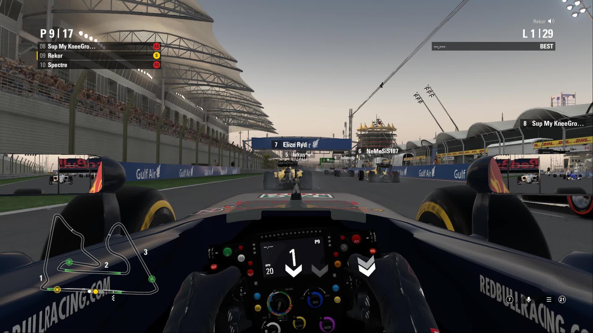bahrain, f1 2016, virtualwdcpc, F1 2016 - VirtualWDCPC - 1400 S8R03 - Bahrain GP - Start GIFs
