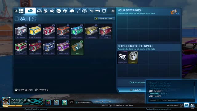 Watch and share IToPh3rs RocketLeague 20190610 20-30-49 GIFs on Gfycat