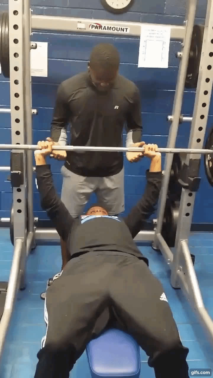 weightlifting, Bench press crack up GIFs