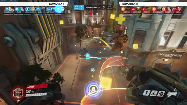 Watch and share Overwatch GIFs and Doomfist GIFs by Selden on Gfycat