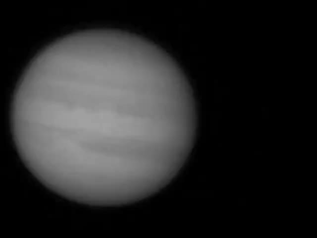 r/sciences, Amateur Astrophotographer Captured Huge Explosion on Jupiter (recorded on 10 Sept. 2012) credit; Flickr/George Hall GIFs