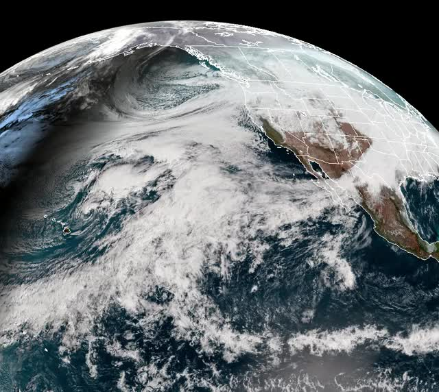Watch Atmospheric river event US West, GOES-WEST GIF by The Watchers (@thewatchers) on Gfycat. Discover more related GIFs on Gfycat