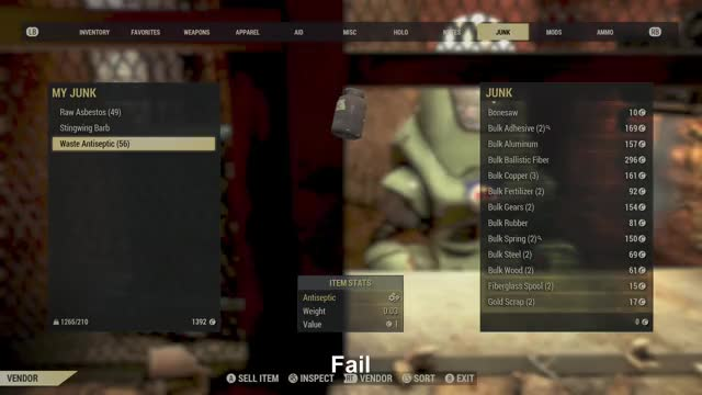 Watch Fail GIF by Gamer DVR (@xboxdvr) on Gfycat. Discover more DoubleDirtyDany, Fallout76, xbox, xbox dvr, xbox one GIFs on Gfycat