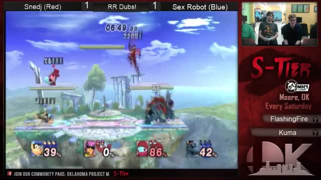 Watch and share SSS-Tier #4 RR PM Dubs - Sex Robot (ROB + Bowser) Vs. Snedj (Bowser/Squirtle + Sonic/Olimar/Falcon/D GIFs on Gfycat