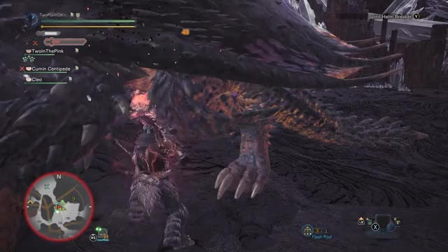 Watch MHW: How to miss Spirit Helm Breaker GIF by @twopointoh on Gfycat. Discover more MonsterHunterWorld GIFs on Gfycat