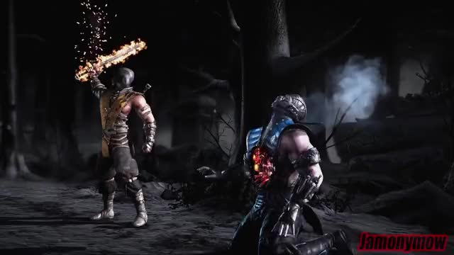 Mortal Kombat X Scorpion Fatalities Fatality Gif Gfycat
