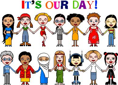 Watch and share Womens Day animated stickers on Gfycat